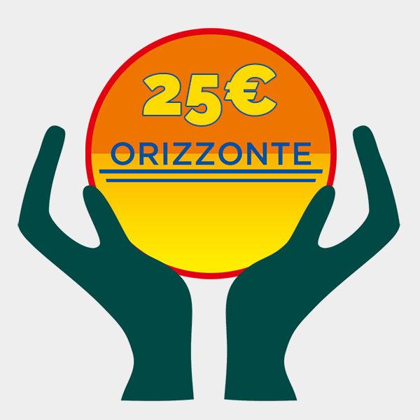 donazione 25 euro